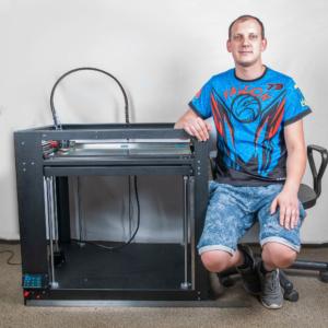 3Д принтери Inteh3D власного виробництва