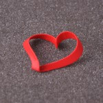 Сувенир =Сердце Мебиуса=, красный пластик