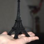 3d Эйфелева башня