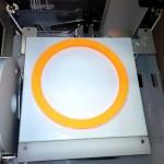 шестеренка 25см на 3D принтере CubeX