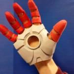 перчатка 3D