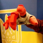 3d рука железного человека