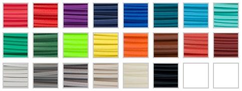 палитра цветов ABS-пластика